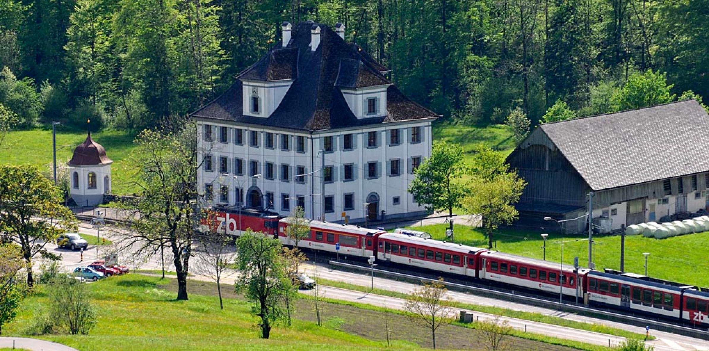 Herrenhaus Grafenort in Engelberg.